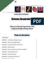 Aula 9 - Sistema Respiratório