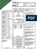 D&D 5e - Ficha de Personagem Automática (Raanark Barbaro)