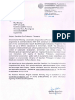 Gandhian Eco-Philosophy Fellowship