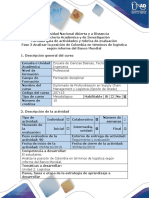 Guía de actividades y rúbrica de evaluación - Fase 3 Analizar la posición de Colombia en términos de logística según informe del Banco Mundial.docx