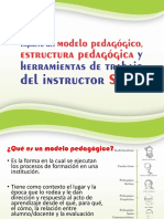 Impacto del modelo pedagógico, estructura  pedagógica y herramientas de trabajo del instructor SENA