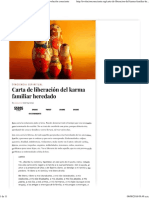 Carta de Liberación Del Karma Familiar Heredado _ Evolución Consciente