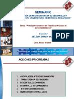 6. Principales Avances en Relacion Al Proceso de Descentrali