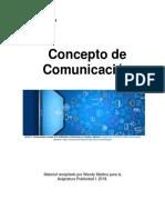 Unidad 1. Recurso 1. Texto. Concepto de Comunicación