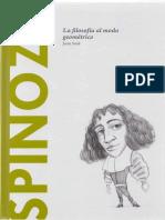 (Descubrir La Filosofía Tomo 20) Joan Solé-Spinoza. La filosofía al modo geométrico. 20-Batiscafo (2015).pdf