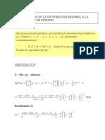 Aproximacion de La Binomial