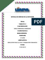 Tarea 2 de Educacion Para La Paz Soniaaaa