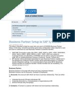 Business Partner Setup in SAP S.docx