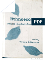 Ethnoecology. Situated knowledge/located lives.