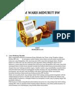 HUKUM WARIS MENURUT BW.docx