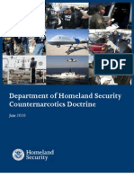 Department Of Homeland Security Counter Narcotics Doctrine