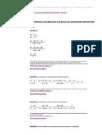 Expresiones Algebraicas Racionales_ Simplificacion - Ejercicios Resueltos - Matematica y Listo - Polinomios