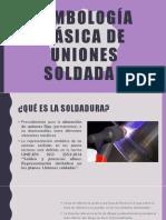 Simbología Básica de Uniones Soldadas