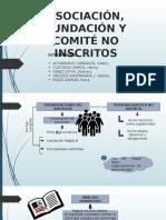 Organizaciones No Inscritos