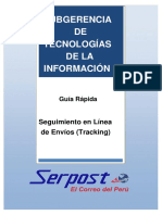 Guía de SERPOST