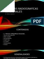 CLASE 9 TECNICAS RX INTRAORALES.pptx