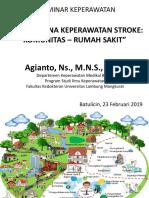 Tatalaksana Stroke Komunitas - Rumah Sakit