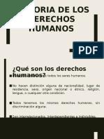 Historia de los derechos humanos (Sin terminar)