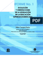legislación en la educacion superior