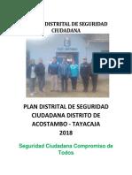 Plan 2018 Acostambo