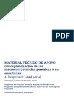 Responsabilidad Social - Navarro 2003 Comportamiento Socialmente Responsable