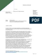 2019 03 28 - TK | Kamerbrief over berichtgeving dat EP Nederland als belastingparadijs bestempelt