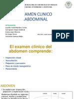 Expo Examne Clinico Abdomen Diferentes Especies