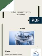 Food Constituents (1)