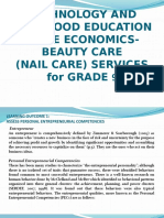 TLE for Beautycare (Nail Disorders)