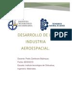 Desarrollo de La Industria Aeroespacial