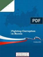 Fighting Corruption in Russia (factsheet via ModernRussia.com)