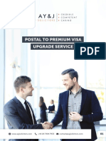 Premium Visa Upgrade Service Brochure