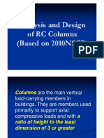 RC Lecture 14 Design of Columns