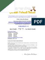 Parashat Jayei Sarah # 5 Adul 6011