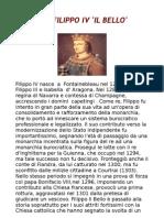 Biografia Di Filippo IV Il Bello