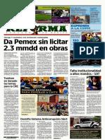 22-03-2019 Primeras Planas Nacionales (México)