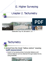 Tacymetry-horizontal and Inclined Sights
