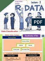 Classification of Data