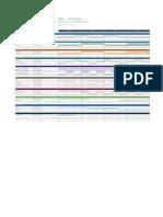 Cronograma de Marketing de Un Evento