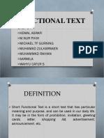 Fungtional Text