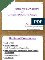 Basic assumptions principles of cbt