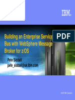 Building an Esb With Websphere Message Broker October Ps