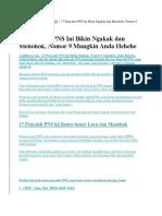 17 pennyakit pada PNS.docx