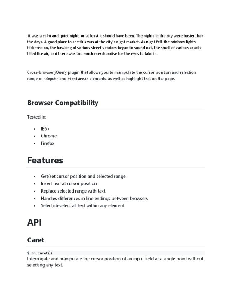 peicho | J Query | Cursor (User Interface)