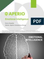 Engagement & Emotional Intelligence