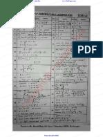 12th Maths Answer Key for Public Exam 2019 Original Question Paper