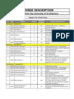 Course Descriptions - Eng Version