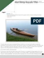 Building a Cedar-Strip Kayak