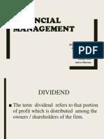 Fianance Dividend