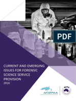 Current and Emerging Issues in Forensic Science Service Provision